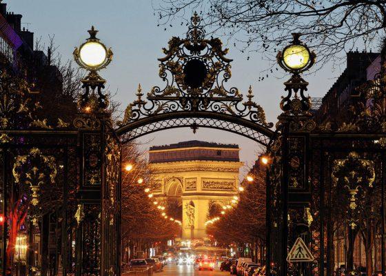 Du quartier Monceau à l'avenue des Champs Elysées