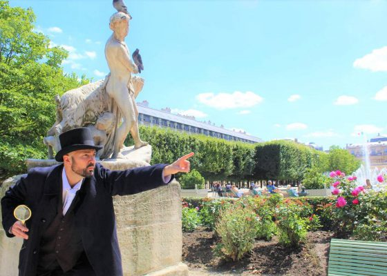 Le ventre de Paris, les Halles & une enquête au Palais Royal