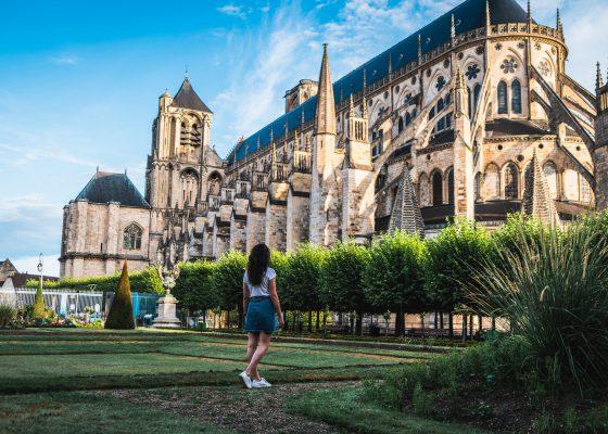 Le Palais Jacques Cœur et la cathédrale de Bourges